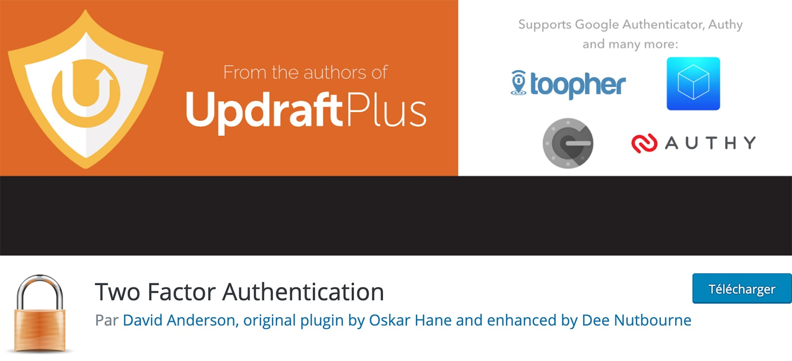 Extension : Two Factor Authentication