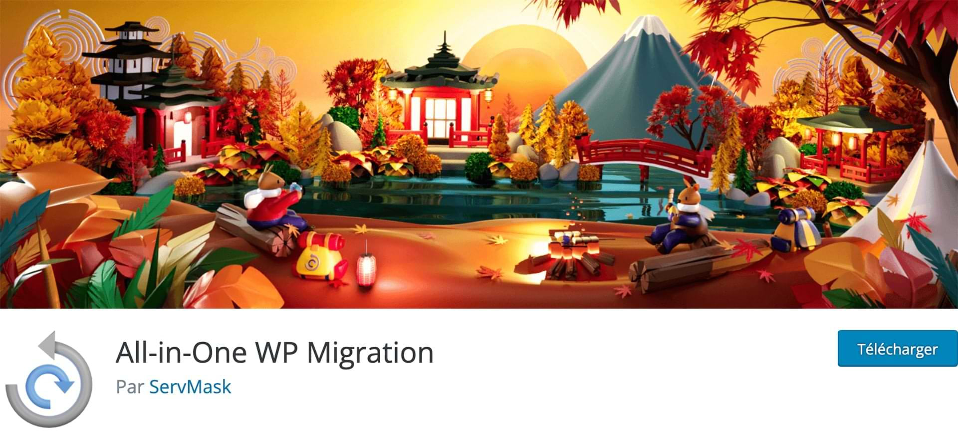 All In One WP Migration : logo